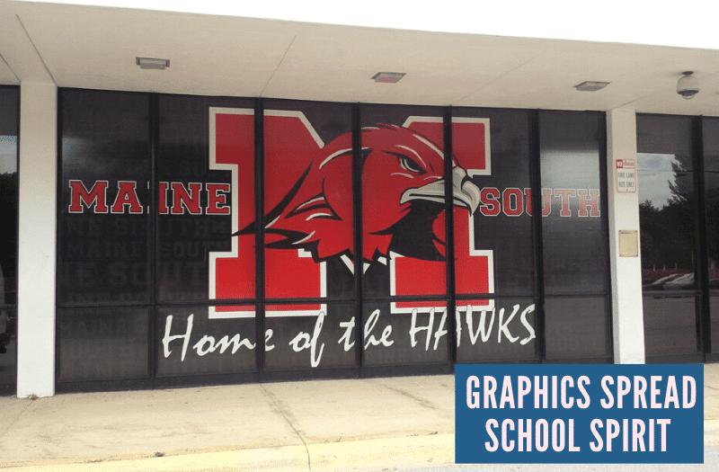 Graphics Spread School Spirit