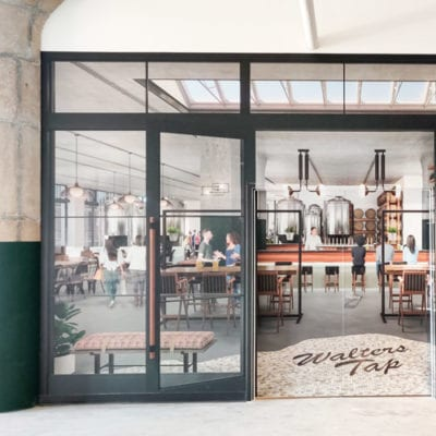 Wall Graphics Show Off Vision for Office Space