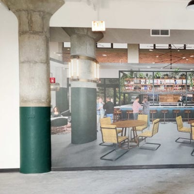 Wall Graphics Showcase Hospitality Space