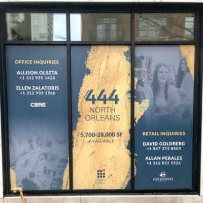 For Lease Window Sign