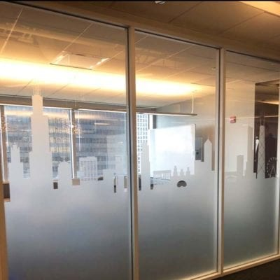 Privacy Film at Big Time Software - Side View