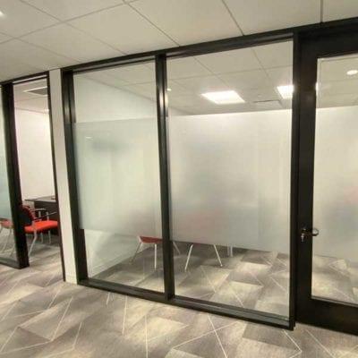 Door and Office Film at C.U.R.E