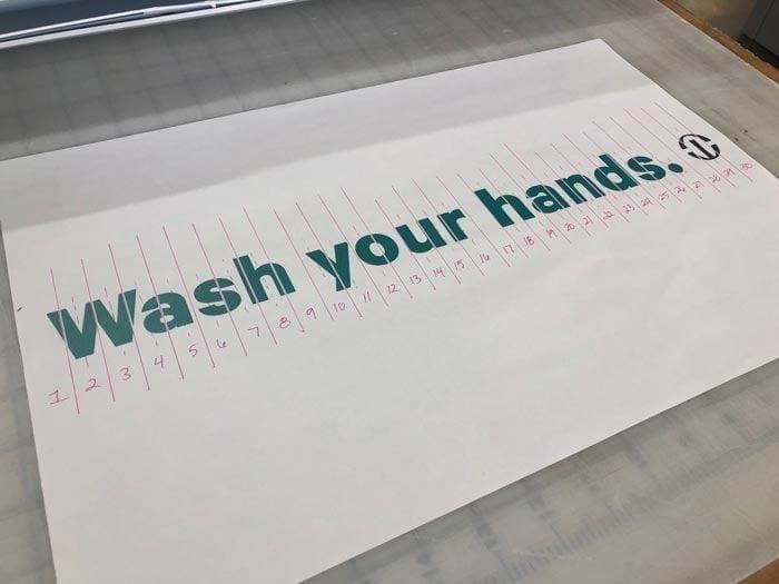 Stick together 4 wash your hands