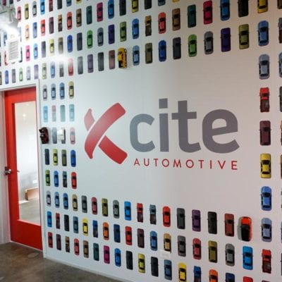 Corporate Branding at Xcite Automotive.