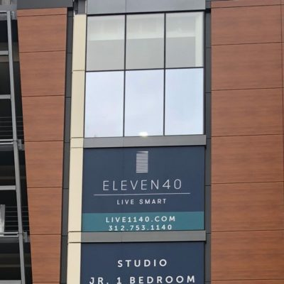 Window Displays on Available Apartments