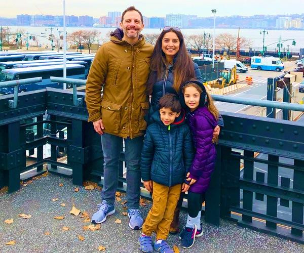 Jon davis 2 jon with family in new york