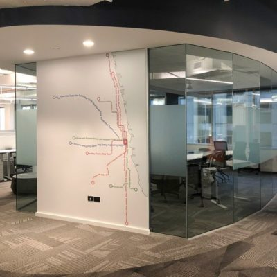 Privacy Film and Wall Graphics at Toast