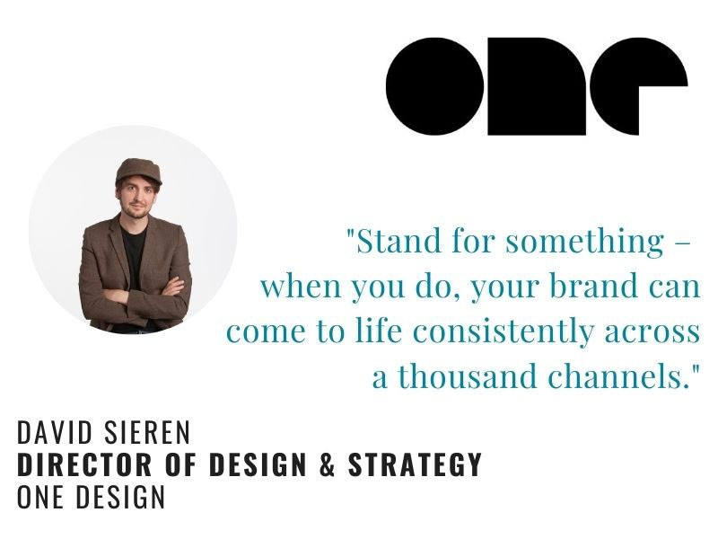 David Sieren Quote on Branding: Stand for Something