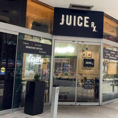 Juice RX Window Signage