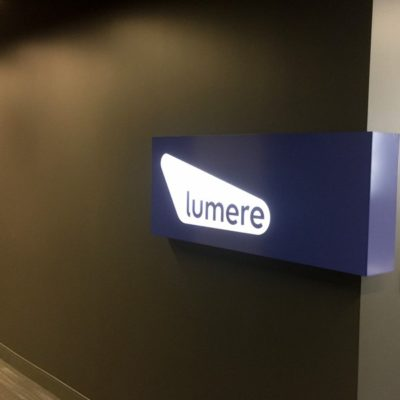 Lumere Lighted Signage
