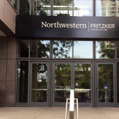 Northwestern University Signage