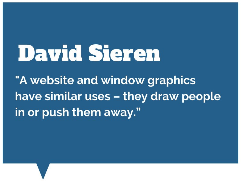Quote from David Sieren on Window Graphics
