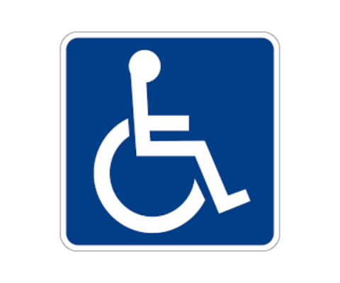 The image complements a short description and purpose of the America Disabilities Act