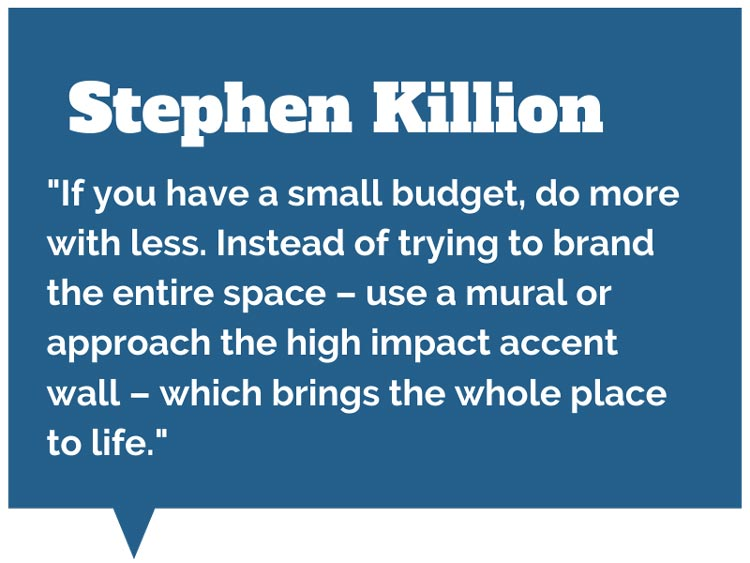 Stephen killion discusses retail signage on a small budget