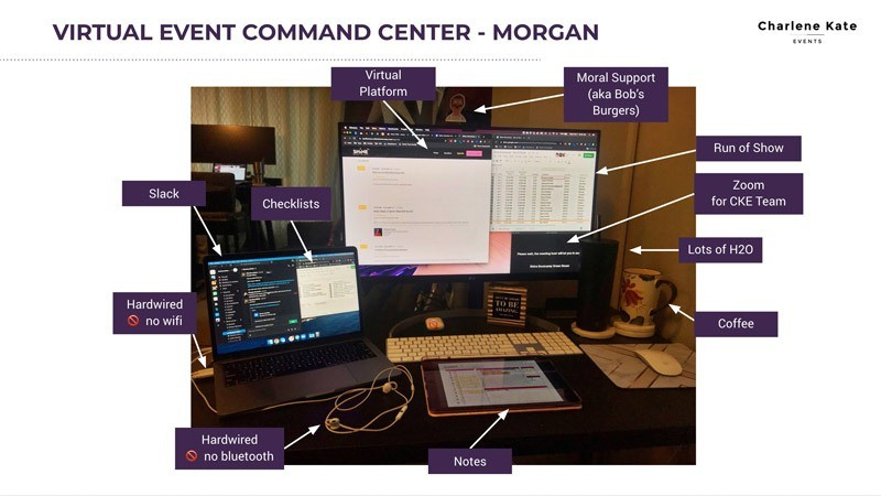 Virtual Event Planning 9 Command Center Picture