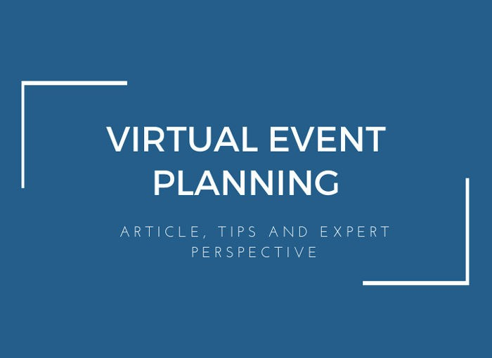 Virtual Event Planning Featured Image.