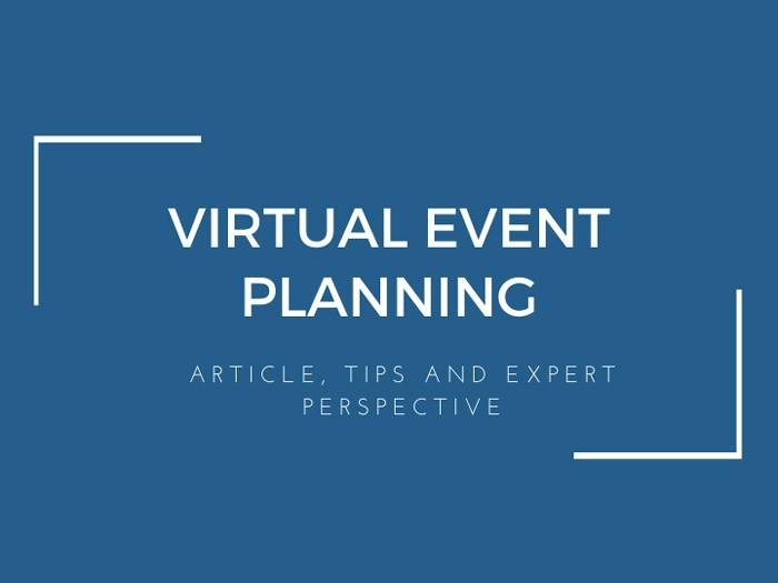 Virtual Event Planning