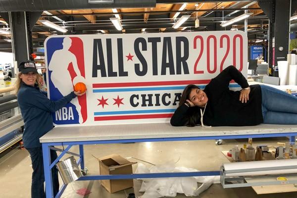 NBA All-Star Game Graphics