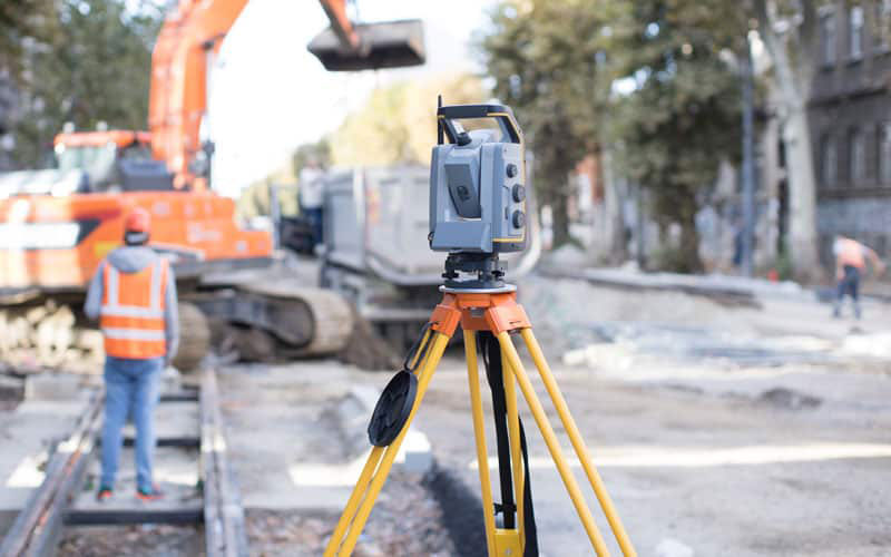 Laser Scanning Being Used In Construction.