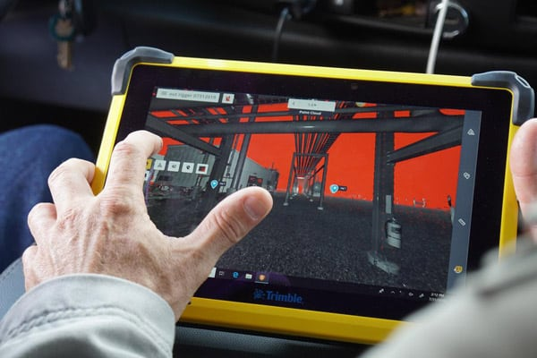 Scanning Review on Job Site