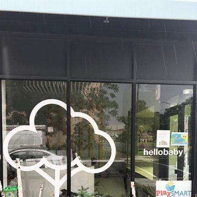 Storefront Window Graphics at hello baby