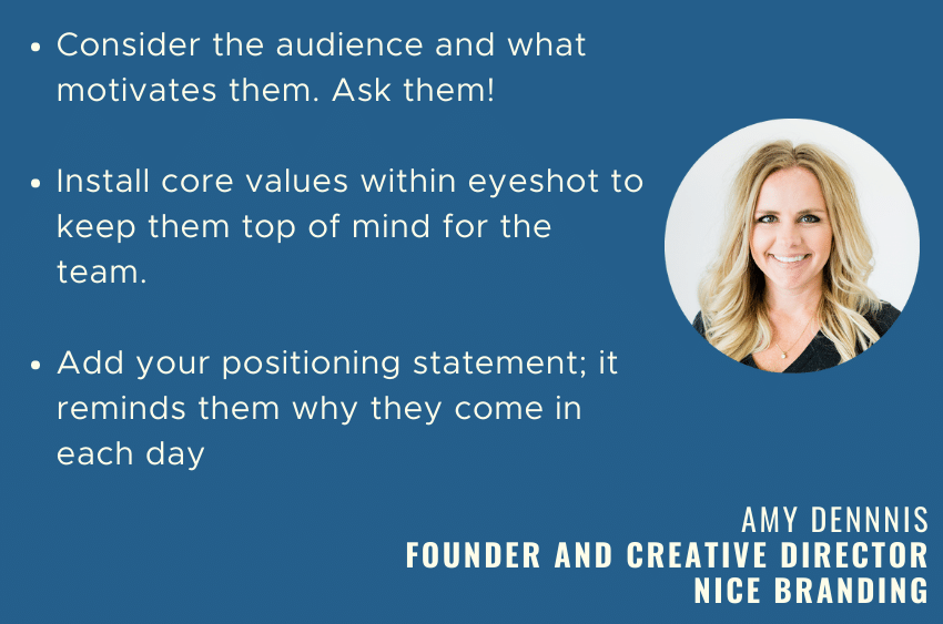 Workplace branding: your secret weapon 10 amy branding tips e1633637945706
