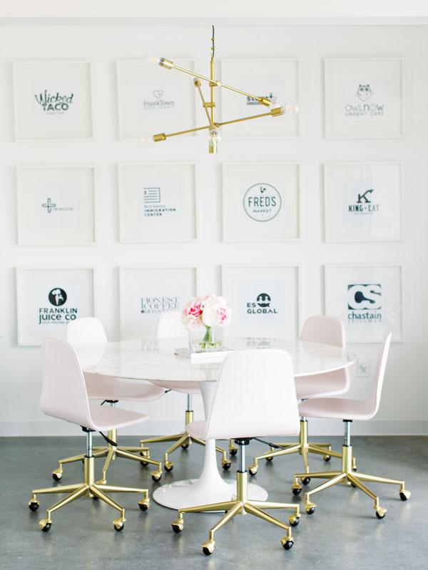 Workplace branding: your secret weapon 12 nice branding framed panels