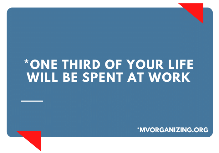 Workplace branding: your secret weapon 11 one third of life at work statistic e1633637971472